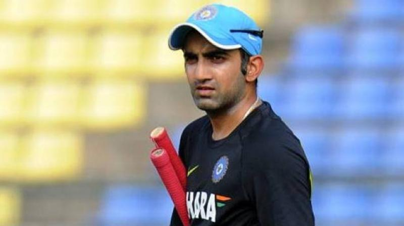 Gautam Gambhir has extended financial support to the former Indian boxer. (Photo: AFP)
