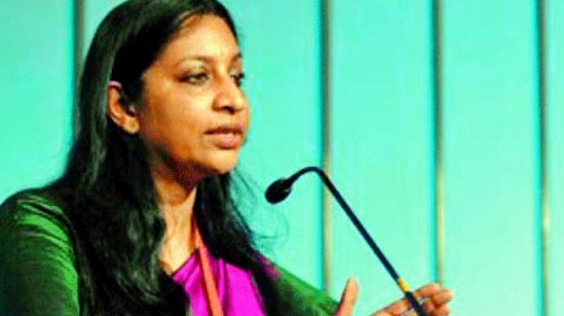 Telecom Secretary Aruna Sundararajan.