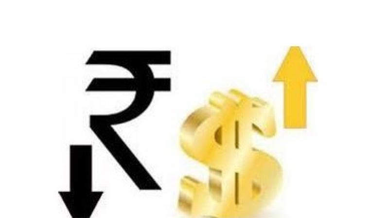 Foreign fund outflows and rising crude oil prices also weighed on the rupee sentiment. (Photo: PTI)
