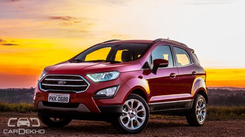 Ford EcoSport is most likely to ditch the existing 1.5-litre 3-cylinder engine with the more powerful, similar capacity 4-cylinder motor.