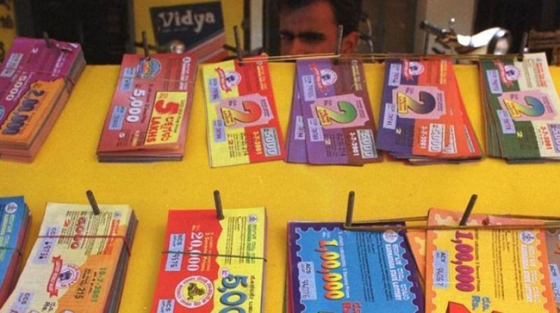 Lottery traders protest in Mumbai against 28 per cent GST on