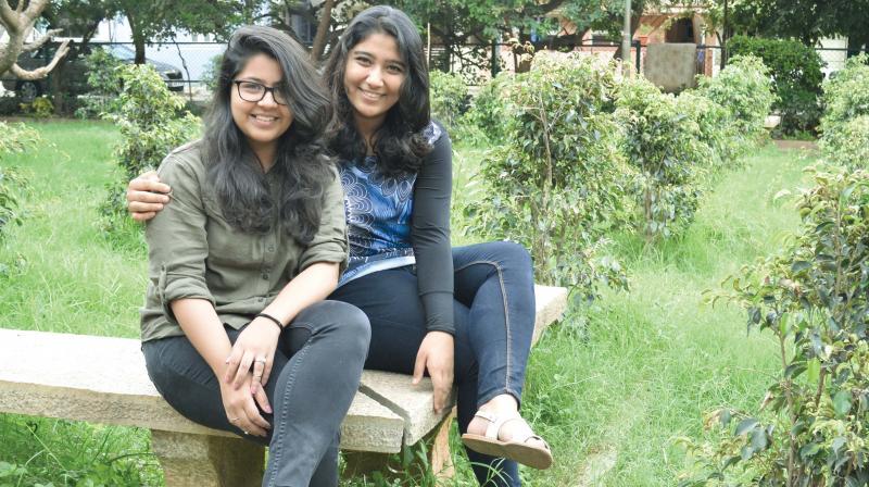 Garvita Gulhati and Pooja Tanawade.