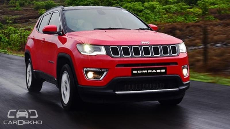Jeep Increases Prices Of Compass Post Gst Cess Hike