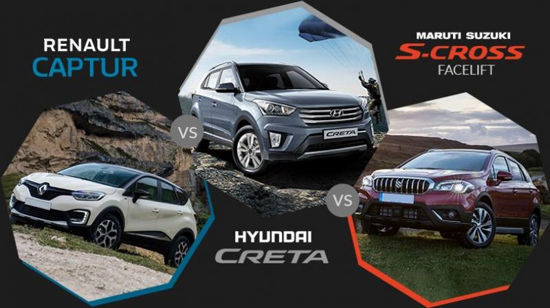 Let's compare them based on their current specs in the international market with the Creta.