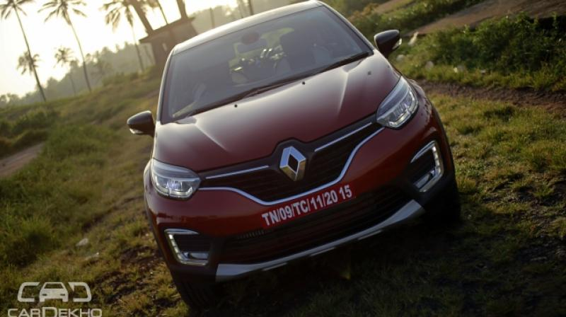 Captur stand out from the rest of the crowd with the customisation options that Renault will offer.