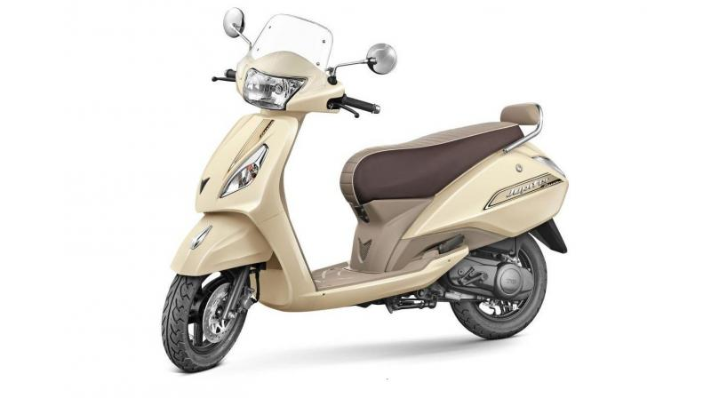 The TVS scooter also gets eco and power mode indicators which can be used to extract maximum fuel efficiency from the two-wheeler.