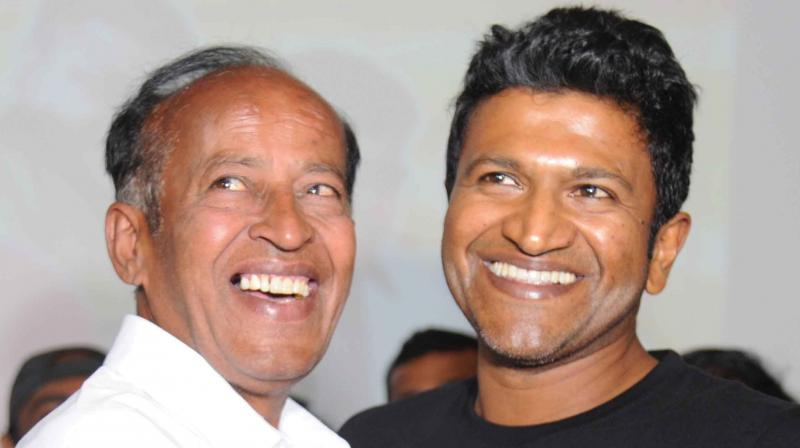 Honnavalli Krishna was all praise for Puneeth, saying that as a child artiste, Puneeth was a very quick learner.