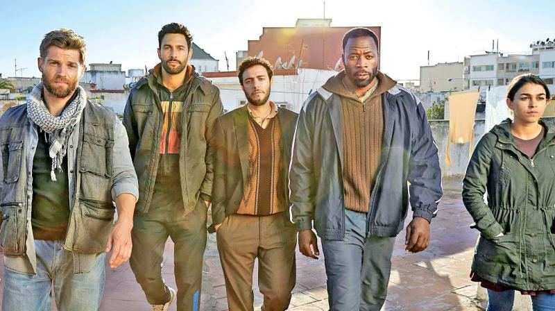A still from The Brave