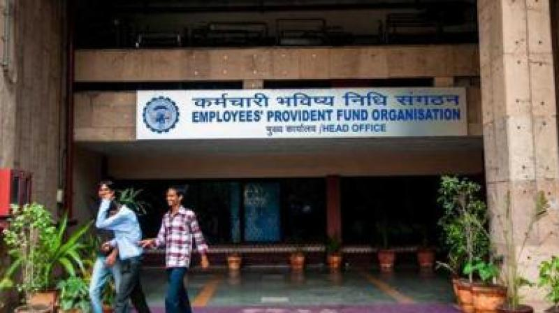 EPFO data indicates that the number of contributing members decreased from 4.62 crore in July to 4.38 crore in September this year.
