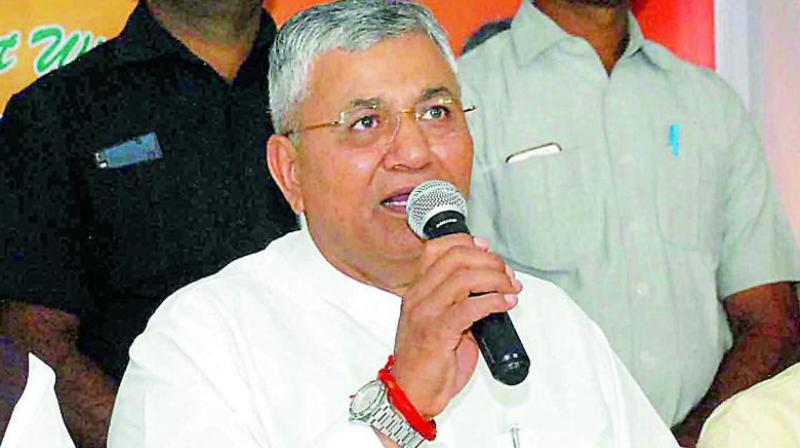 Union minister P P Chaudhary.