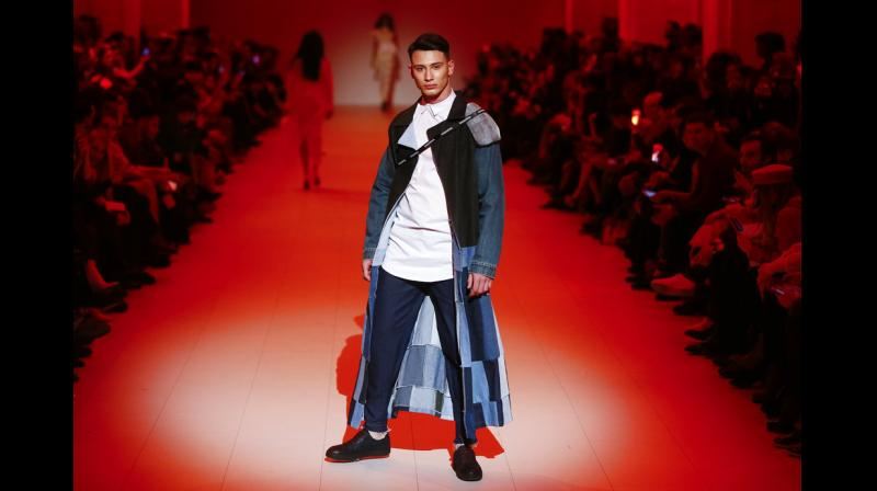 Leading Ukrainian designers presented their new collections among a number of other events dedicated to the world of high fashion. (Photos: AP)