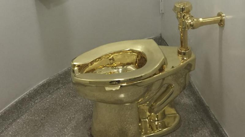 Police said the toilet was taken early Saturday by thieves who used at least two vehicles. (Photo: AFP)