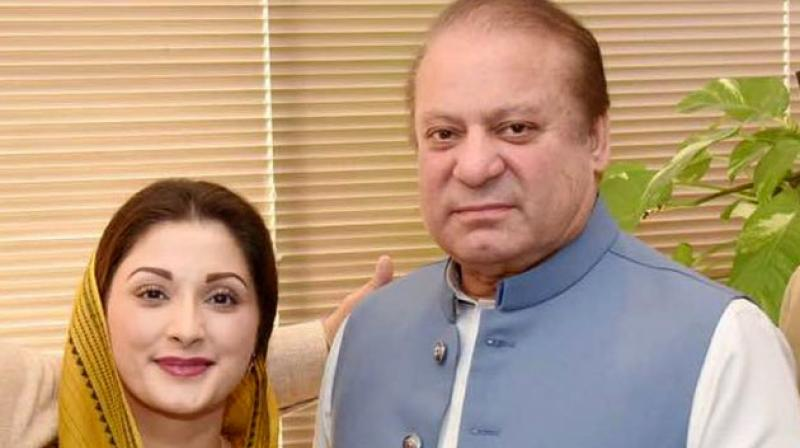 Pakistan's former prime minister Nawaz Sharif and some of his family members are facing charges relating to their ownership of properties in London. (Photo: Maryam N Sharif | Twitter)