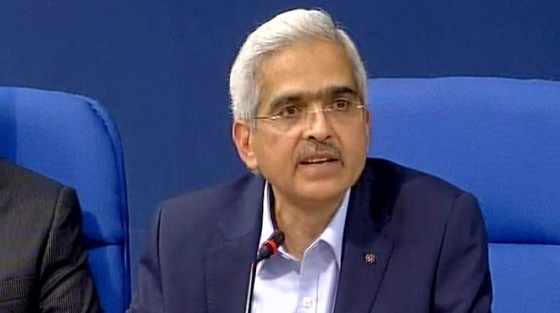 Shaktikanta Das, Secretary Economic Affairs. (Photo: ANI/Twitter)