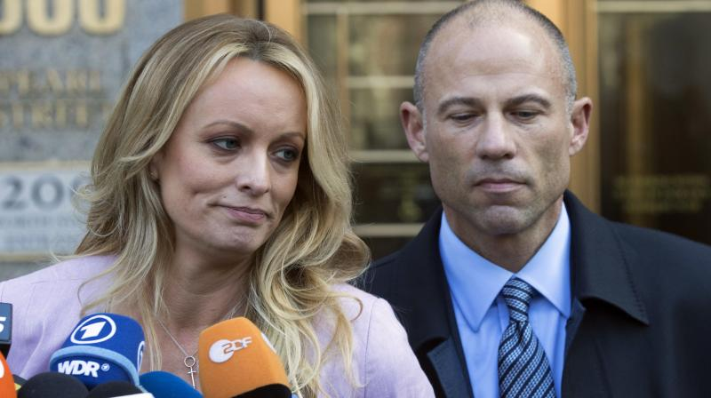 Avenatti was arrested in March after prosecutors said that the 48-year-old attorney threatened to release 'damaging information' about Nike. (Photo:AP)