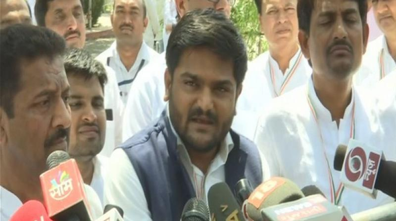 Patel threatened to sit on a hunger strike, if action was not taken against the city mayor as well as fire department and municipal corporation officials within 12 hours. (Photo: ANI)