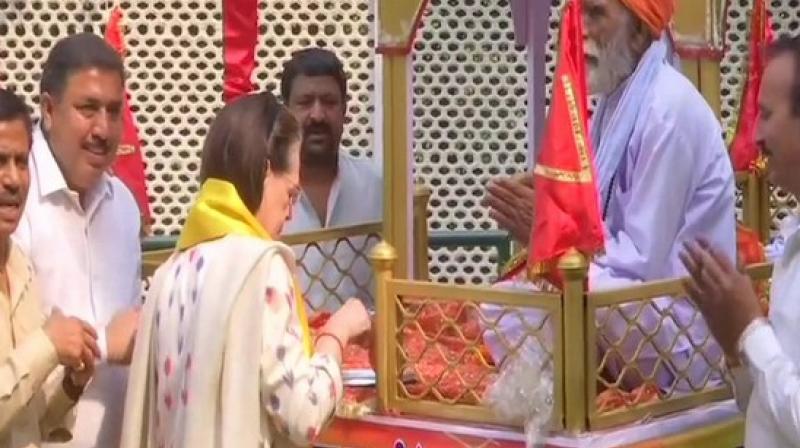 Valmiki Jayanti is celebrated to mark the birth anniversary of Maharishi Valmiki.  (Photo: ANI)