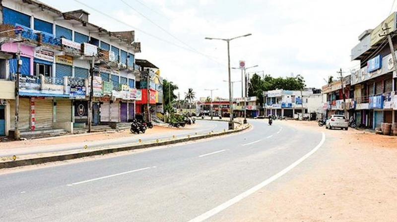 Normal life was paralysed across the state due to the bandh. In the most serious incident, traffic was stalled for about 5 km in the morning on the Vijayawada Highway when agitators squatted on the road in front of the Hayathnagar bus depot.
