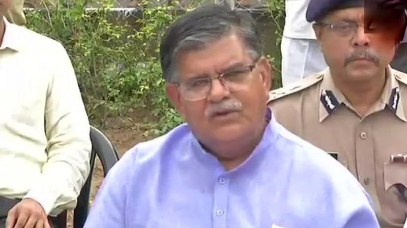 Rajasthan home minister Gulab Singh Kataria  said he met the victim's family and they told him that they were satisfied with the action taken so far. (Photo: Twitter | ANI)