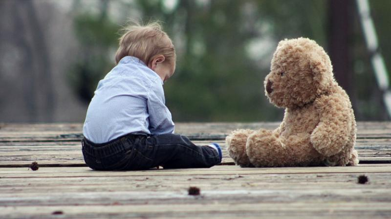 Image result for stuffed animals with child