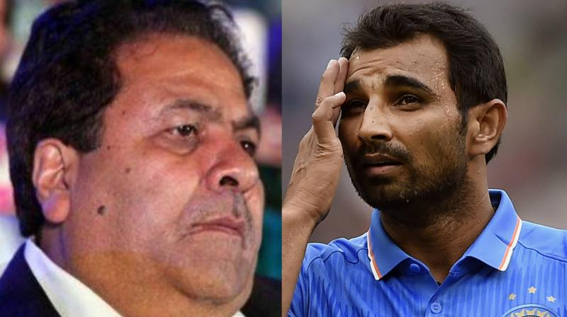 Indian Premier League (IPL) chairman Rajeev Shukla has stated that necessary action will be taken against cricketer Mohammed Shami once the Committee of Administrators (CoA) submits its report. (Photo: BCCI / AP)