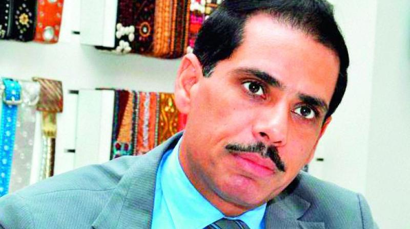 Besides Vadra, the agency has also challenged the anticipatory bail granted to Manoj Arora, an employee of Vadra's Skylight Hospitality LLP and a co-accused in the case.  (Photo: File)