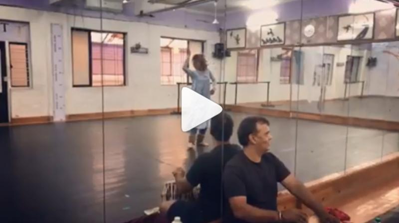 Jacqueline Fernandez's Kathak dance. (Photo: Instagram)