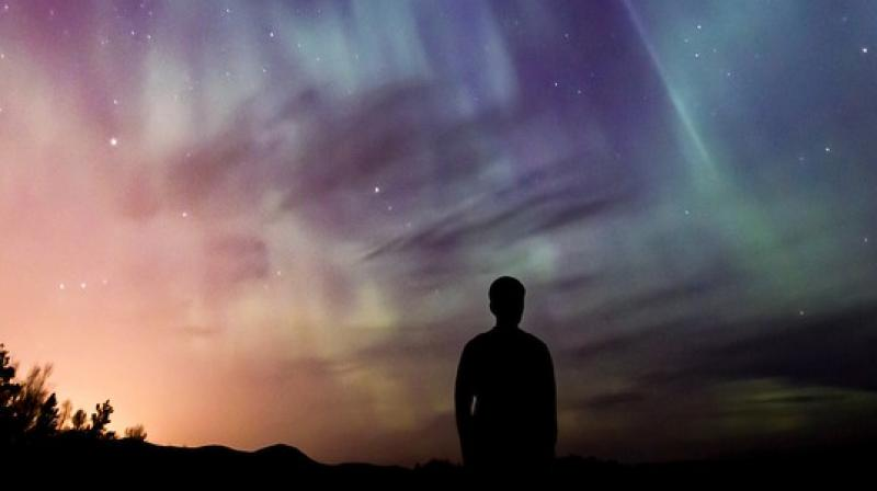 Normally, people do not notice airglow, but on bright nights it can become visible to the naked eye, producing the unexplained glow detailed in historical observations. (representational image)