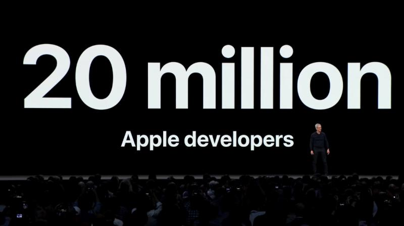 Apple celebrates 20 million App developers on its iOS and mac platforms.