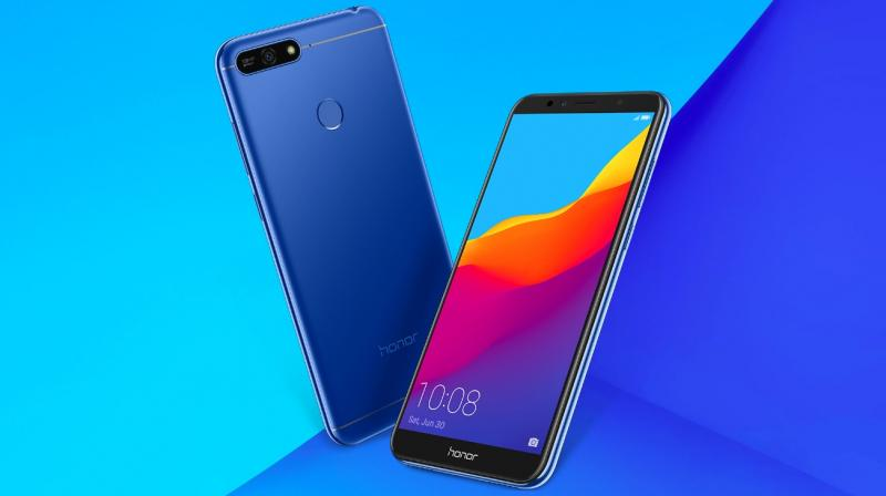 4c2c07cce The Honor 7A packs a 5.7-inch HD+ IPS LCD display with an 18