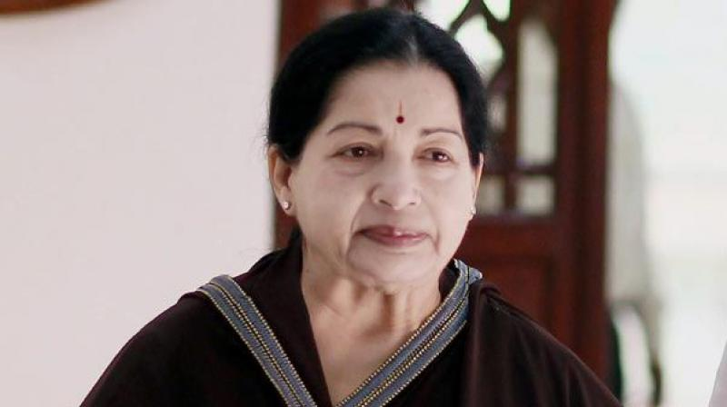 Late Tamil Nadu CM J. Jayalalithaa