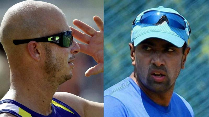 Indian cricketer Ravichandran Ashwin and former South Africa cricketer  Herschelle Gibbs were involved in a social