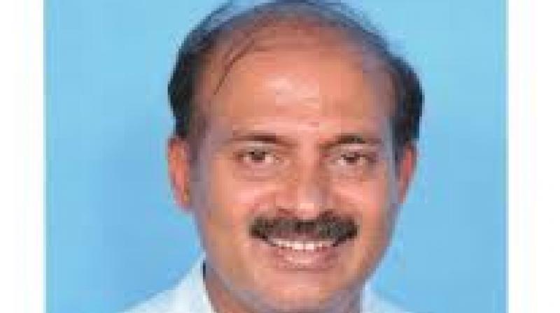 Tourism minister Sa Ra Mahesh