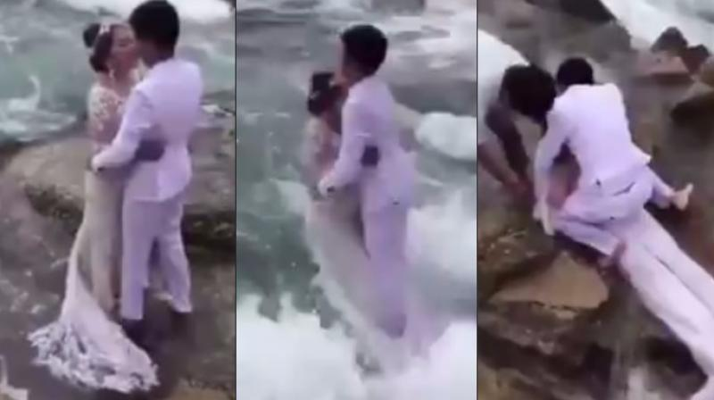 A clip of the painful moment went viral (Photo: Twitter)