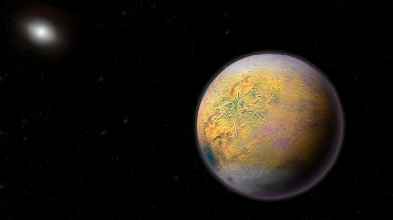 A round frozen world just 186 miles (300 kilometres) across, the Goblin was spotted by astronomers in 2015 around Halloween, thus its spooky name. (Photo: AP)