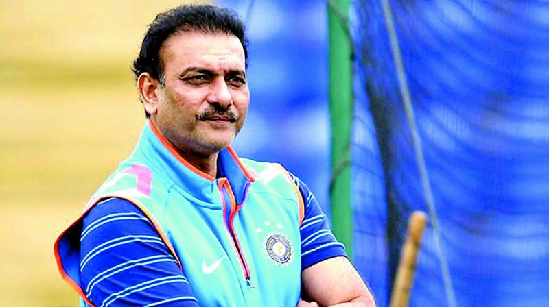 Head coach Ravi Shastri