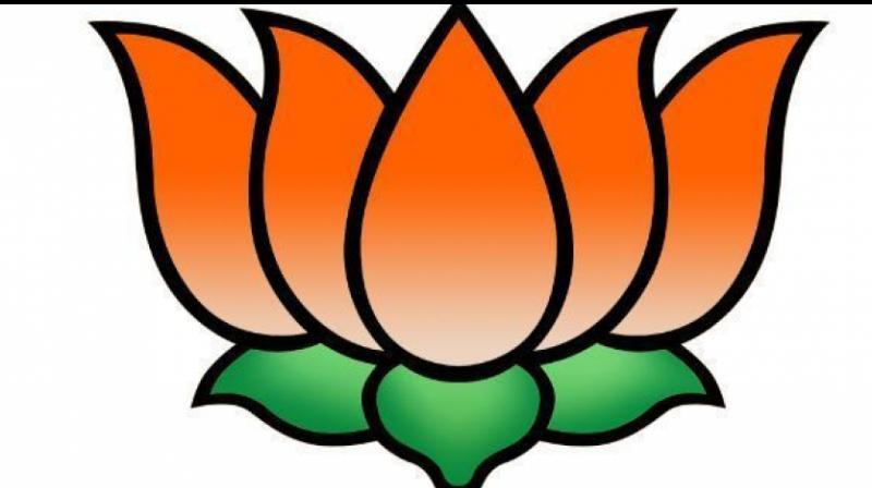 BJP logo.