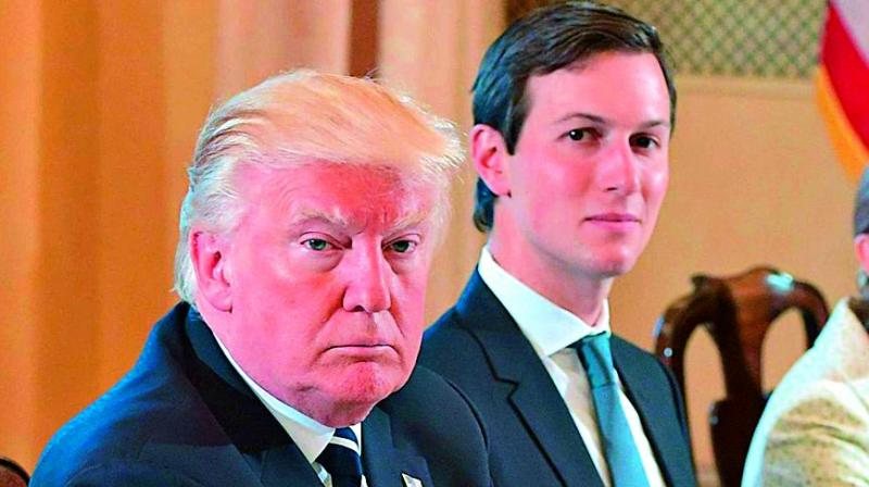 The documents were created with Kushner's cooperation as part of a review of his finances by an institution that was considering lending him money, the Times reported.  (Photo: File)
