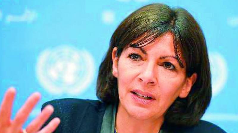 Mayor Anne Hidalgo