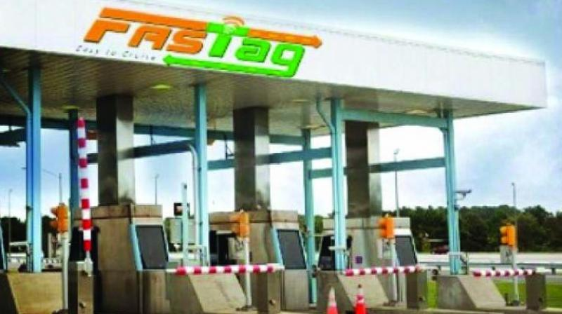 National Highway toll plazas will issue FASTags on the spot for vehicles entering dedicated lanes from December 1. They may be charged a double penal fee for entering dedicated lanes without FASTags.