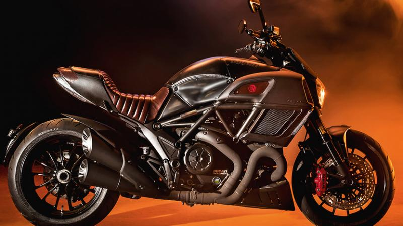 Ducati Diavel Diesel model (Photo: Ducati)