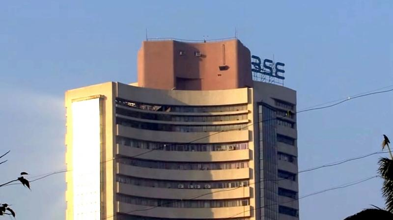 The broader NSE Nifty was also trading 57.20 points, or 0.51 per cent, up at 11,314.30.