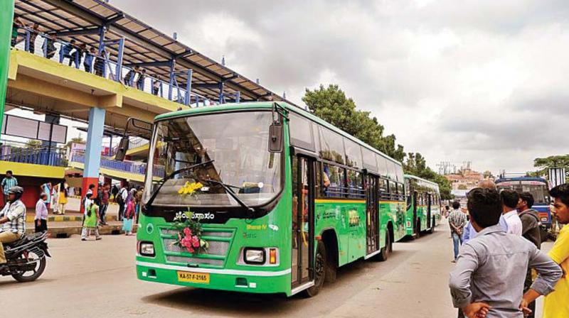 """A senior BMTC official told Deccan Chronicle, """"All these days there was some technical problem for some educational institutions to fill online application to get the passes. (Representional Image)"""
