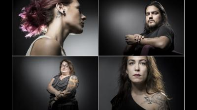 Tattoos have helped survivors, most of who say that even two years after the attack they still feels stuck and the tattoos are the only way to create something beautiful out of all that horror. (Photo: AFP)