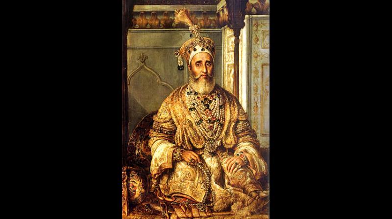 Bahadur Shah Zafar was exiled to Rangoon, Burma in 1858, where he remained until his death.