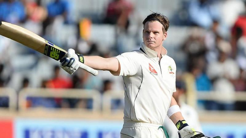Australia head to the Oval hungry to win their first Ashes series in England since 2001 as the peerless Steve Smith seeks to inflict further pain on the hosts. (Photo:AFP)
