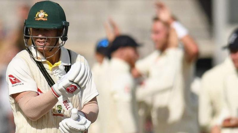 Australia coach Justin Langer believes that opening batsman David Warner will put his bad form from the Ashes behind him in the upcoming Test series against Pakistan. (Photo:AFP)
