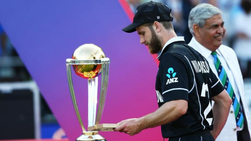 Two months after suffering a heartbreaking loss in the finals of the 50-over Cricket World Cup against England, New Zealand skipper Kane Williamson has said that the entire team is still thinking about the match and trying to make sense of it. (Photo:AFP)