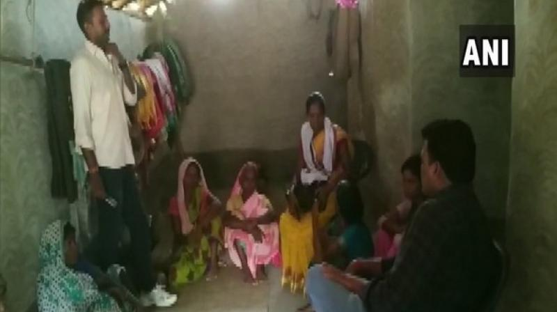 'It has not yet been proved that he died of starvation. He was provided all benefits like Ayushman Bharat Yojana, ration card, pension,' local administration claim. (Photo: ANI)