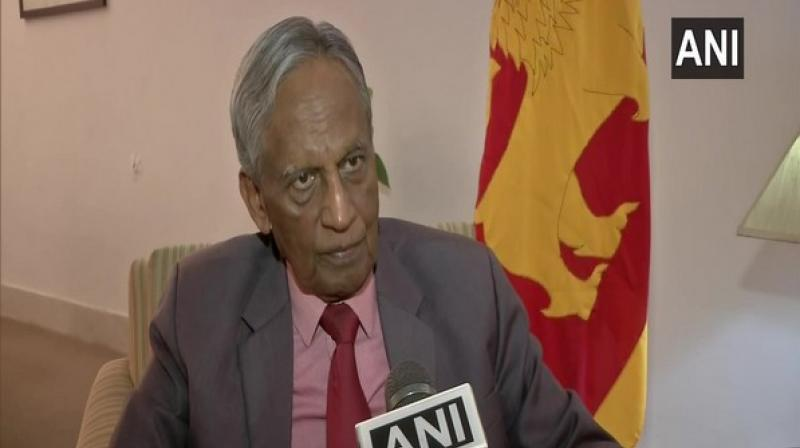 'His visit to Sri Lanka after the 21st April bombings also sends a message internationally… shows the Indian government's humane approach towards the people of Sri Lanka after the Easter terror blasts,' Austin Fernando said. (Photo: ANI)